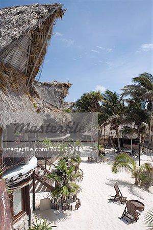 Beach Resort, Tulum, Mexico