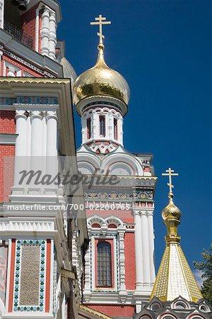 Shipka Memorial Church, Shipka, Kazanlak, Stara Zagora Province, Bulgaria