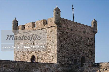 Exterior of Rampart, Essaouira, Morocco