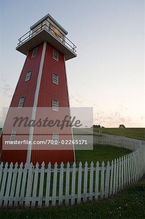 Lighthouse, Atchafalaya Basin, Lafayette, Louisiana, USA