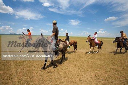 Horse Racers at Naadam Festival, Inner Mongolia, China