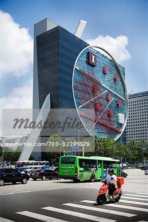 Hyundai iPark Building, Seoul, South Korea