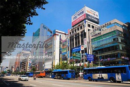 Gangnam-gu Shopping District, Seoul, South Korea