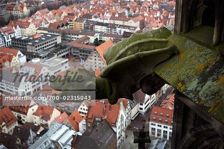 Gargoyle Overlooking Ulm, Germany