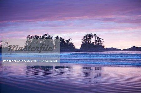 Chesterman Beach at Dusk, Tofino, British Columbia, Canada