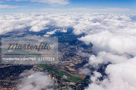 Aerial View of Dallas, Texas, USA