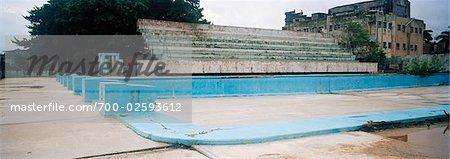 Abandoned Stadium and Swimming Pool, Havana, Cuba