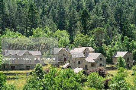 Stone Houses, Cevennes, France
