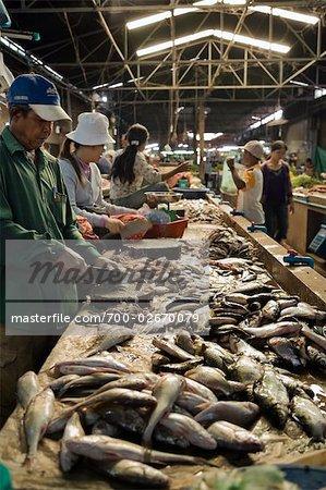 Fish Market, Siem Reap, Cambodia
