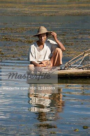 Burmese Fisherman on Inle Lake, Myanmar
