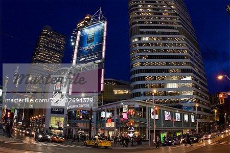 Eaton Centre, Yonge Street, Toronto, Ontario, Canada