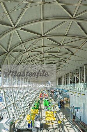 Departure Gate at Kansai International Airport, Osaka, Japan