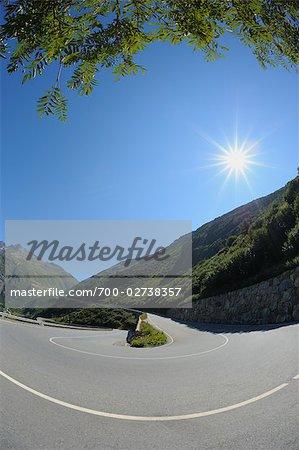 Furka Pass Road, Valais, Switzerland