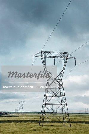 Powerline, Arnessysla, Iceland