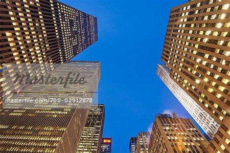 Office Buildings, Midtown Manhattan, New York, New York, USA
