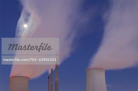 Grosskrotzenburg Power Station, Grossauheim, Hesse, Germany