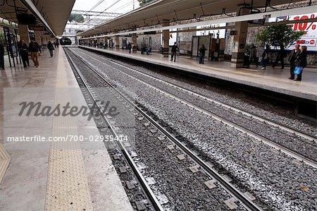 Subway Station, Rome, Italy
