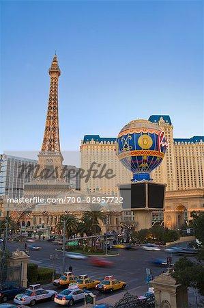 Paris Las Vegas Hotel and Casino, Las Vegas Strip, Las Vegas, Nevada, USA