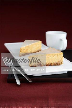 Pumpkin Cheesecake and Tea