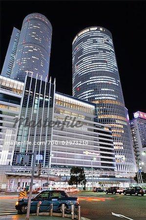 Nagoya Station and JR Central Towers, Nakamura-ku, Nagoya, Aichi Prefecture, Chubu, Japan