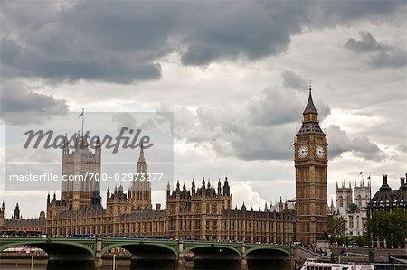 Big Ben and Westminster Palace, London, England, United Kingdom