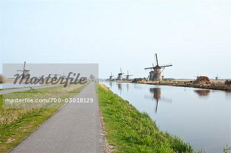 Windmills, Kinderdijk, Netherlands