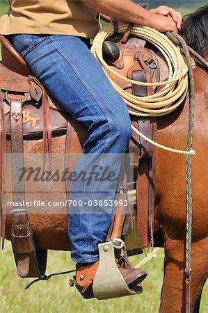 Man Riding Horseback