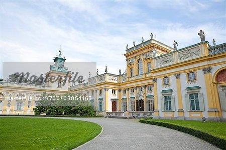 Wilanow Palace, Wilanow, Warsaw, Poland
