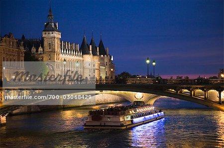 Conciergerie, Ile de la Cite, Paris, France
