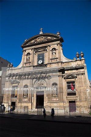 Church of St Elisabeth of Hungary, Le Marais, Paris, France