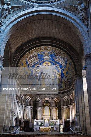 Basilique du Sacre-Coeur, Montmartre, Paris, France