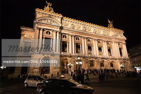 Garnier Opera, Paris, Ile de France, France