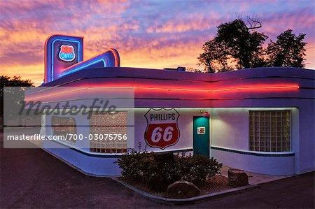 Route 66 Diner, Albuquerque, New Mexico, USA