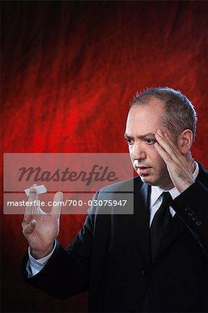 Man Performing Trick