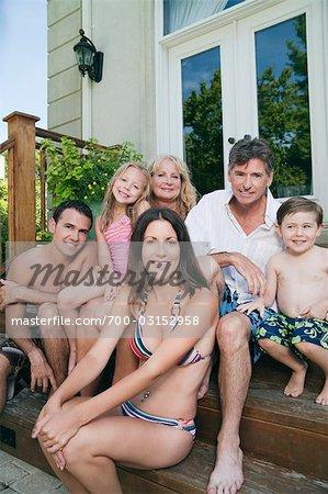 Portrait of Extended Family
