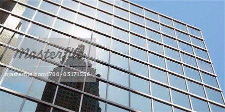 Reflection of Buildings, Toronto, Ontario, Canada