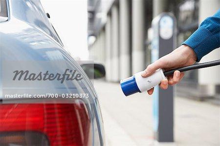 Plugging In Electric Car