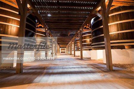 Winery Interior, Pauillac, Gironde, Aquitaine, France