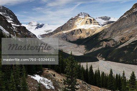 Bow Glacier, Banff National Park, Alberta, Canada
