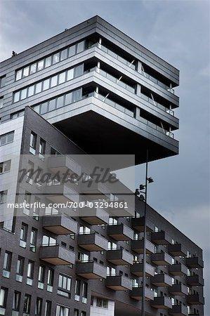 Modern Building, Amsterdam, Netherlands
