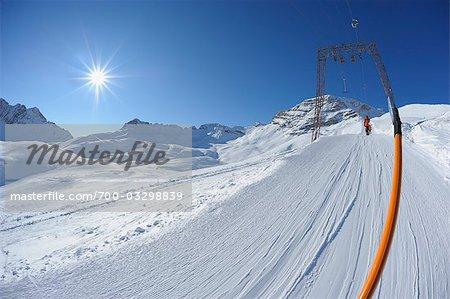 Ski Lift, Zugspitze, Bavaria, Germany