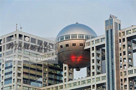 Fuji Television Building, Odaiba, Tokyo, Kanto Region, Honshu, Japan