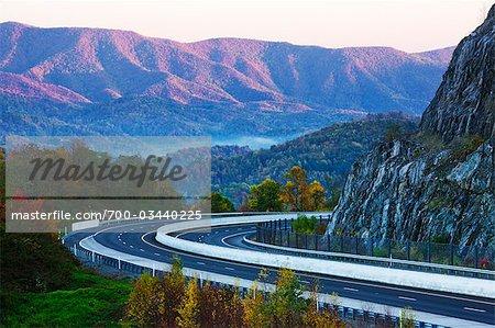 Interstate 81, North Carolina, USA