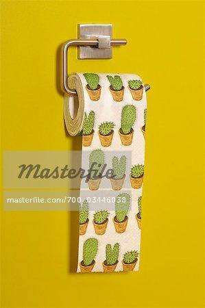 Cactus Print Toilet Paper