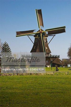 Windmill, Sint Jansklooster, Overijssel, Netherlands