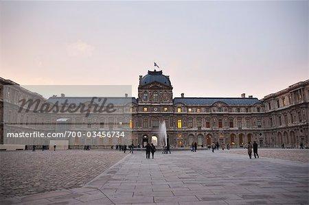 Louvre, 1st Arrondissement, Paris, Ile-de-France, France
