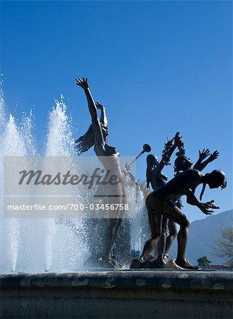 Neptune's Fountain, Monterrey, Mexico