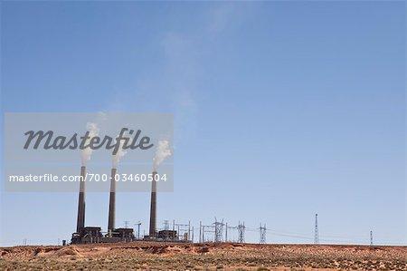 Navajo Generating Station, Arizona, USA