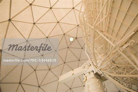 Satellite in Radome, McMurdo Station, Antarctica