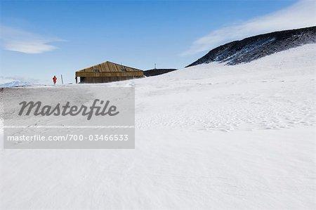 Scott's Discovery Hut, McMurdo Station, Antarctica